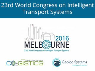 Le congrès international des C-ITS à Melbourne, Geoloc Systems